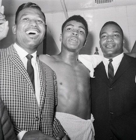 Sugar Ray Ali and Jim Brown