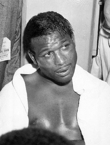 Sugar Ray Robinson post fight